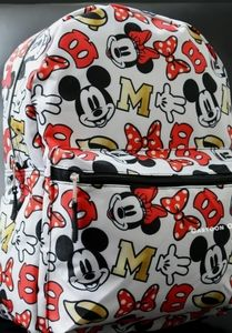 Nwt Disney Mickey & Minnie Mouse Backpack